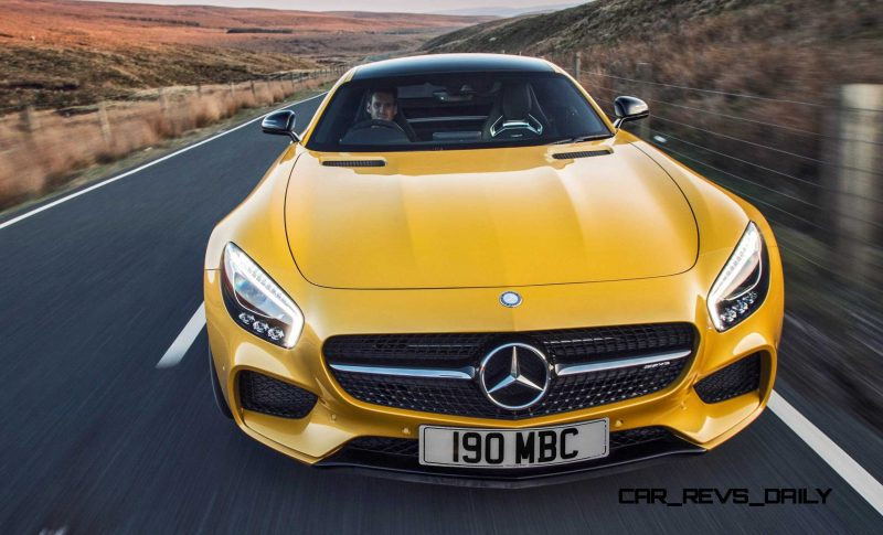 2015 Mercedes-AMG GT S Yellow 35