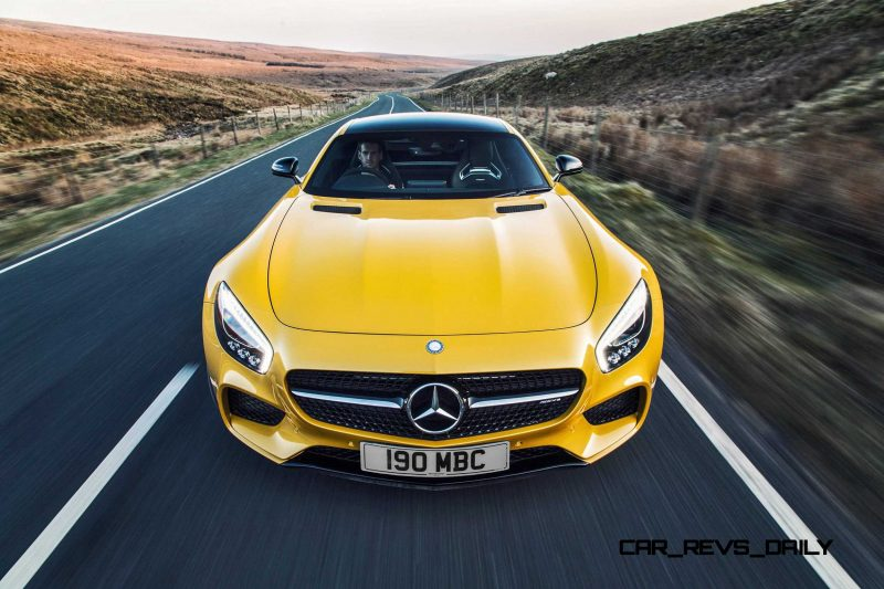 2015 Mercedes-AMG GT S Yellow 36
