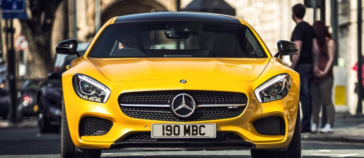 2015 Mercedes-AMG GT S Yellow 39