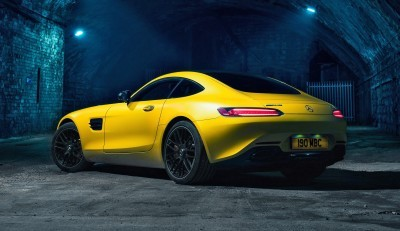 2015 Mercedes-AMG GT S Yellow 4