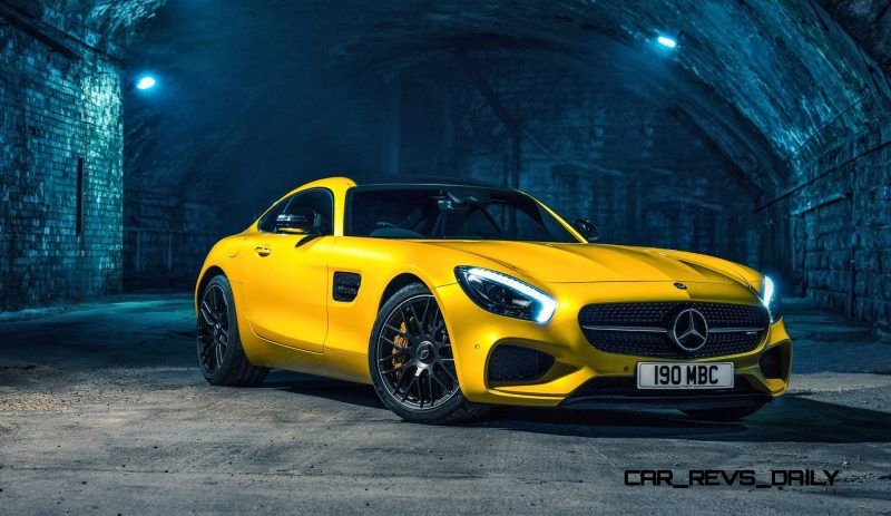 2015 Mercedes-AMG GT S Yellow 5