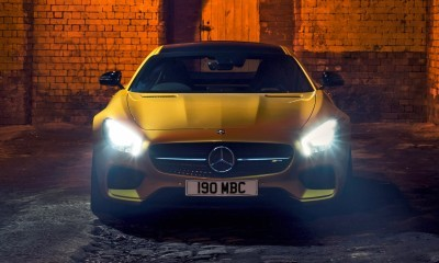 2015 Mercedes-AMG GT S Yellow 6
