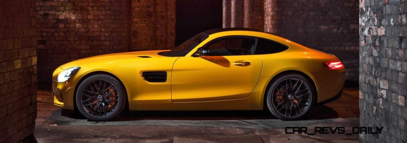 2015 Mercedes-AMG GT S Yellow 7