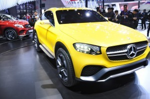 2015 Mercedes-Benz GLC Coupe Concept 11