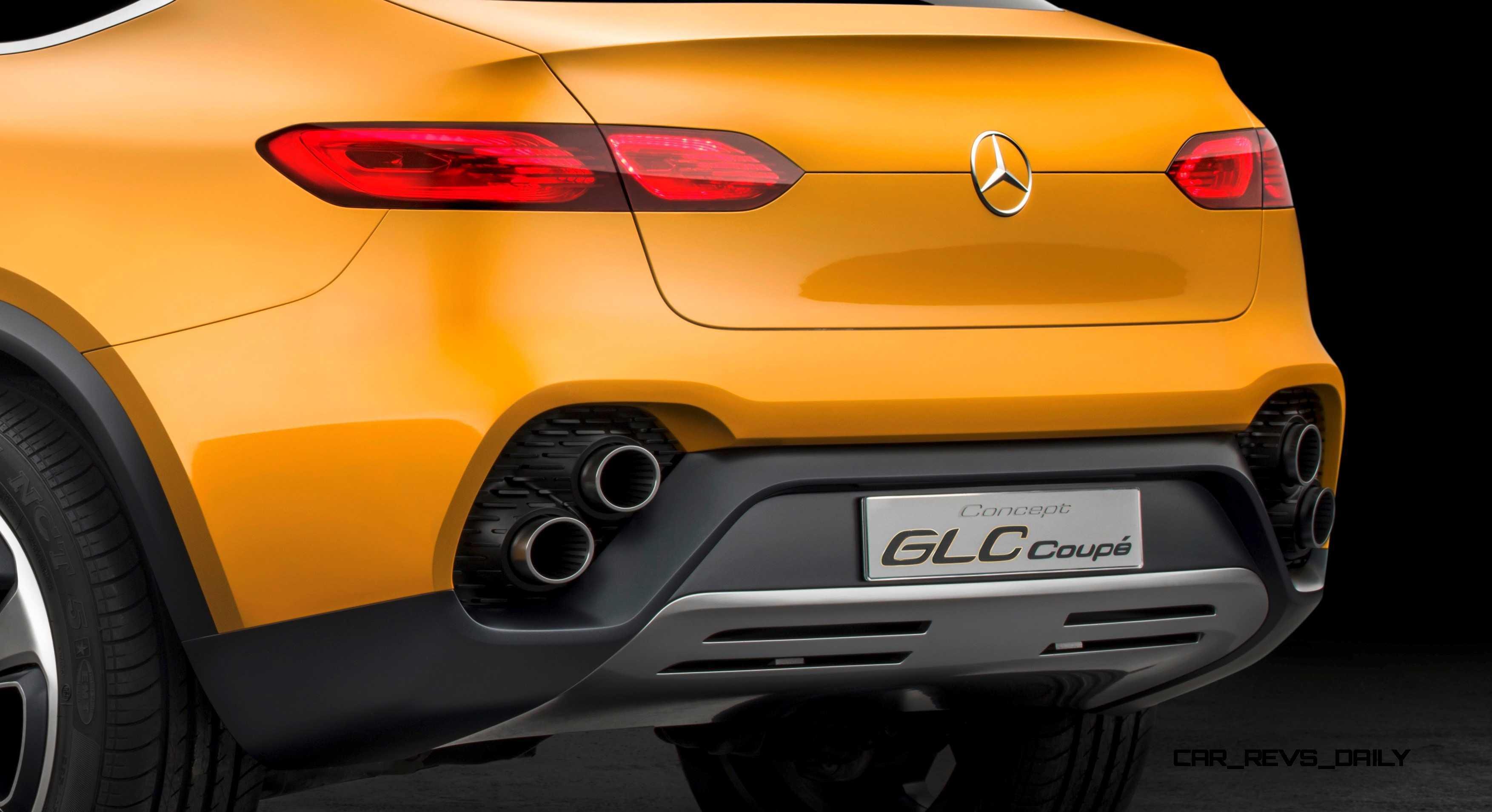 Preview Mercedes Benz Concept GLC Coupé Shanghai 2015