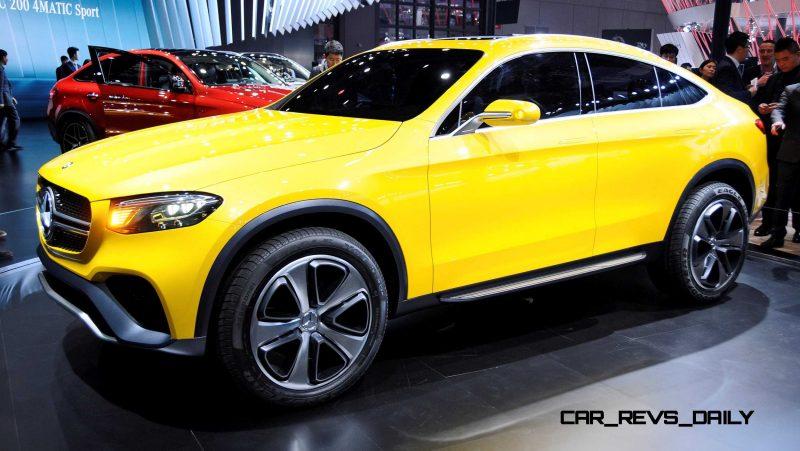 2015 Mercedes-Benz GLC Coupe Concept 12