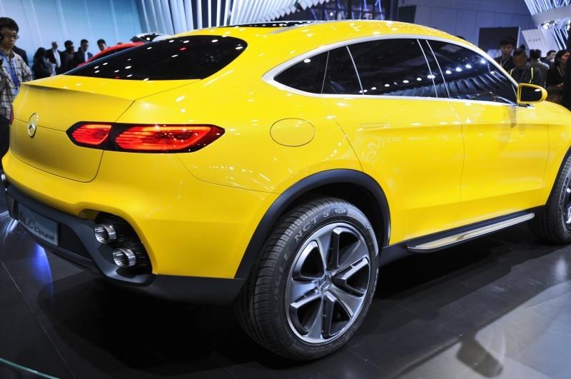 2015 Mercedes-Benz GLC Coupe Concept 14