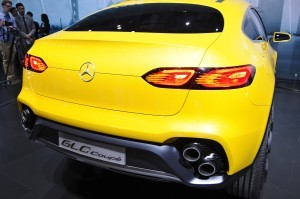 2015 Mercedes-Benz GLC Coupe Concept 2