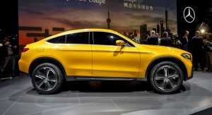 Preview Mercedes-Benz Concept GLC Coupé, Shanghai 2015
