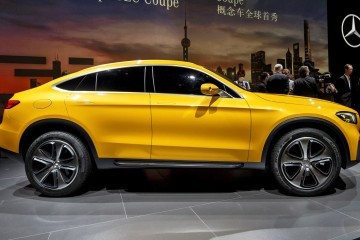 Updated with 35 Shanghai Photos - 2015 Mercedes-Benz GLC Coupe Concept