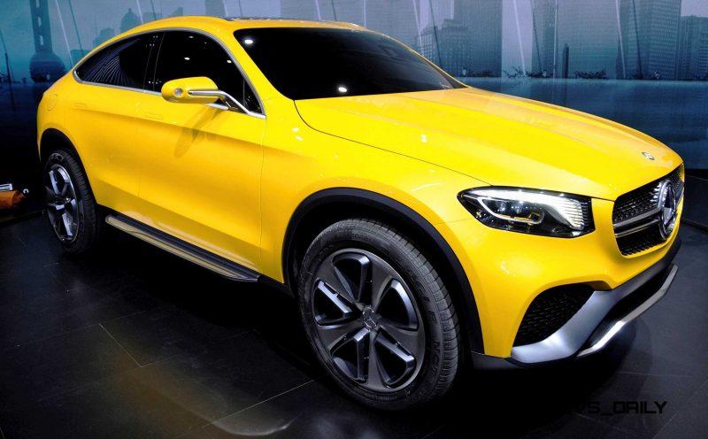 2015 Mercedes-Benz GLC Coupe Concept 3