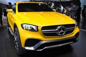 2015 Mercedes-Benz GLC Coupe Concept 8