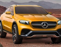 2015 Mercedes-Benz GLC Coupe Concept is *ThisClose* To 2017 GLC400 4Matic Coupe