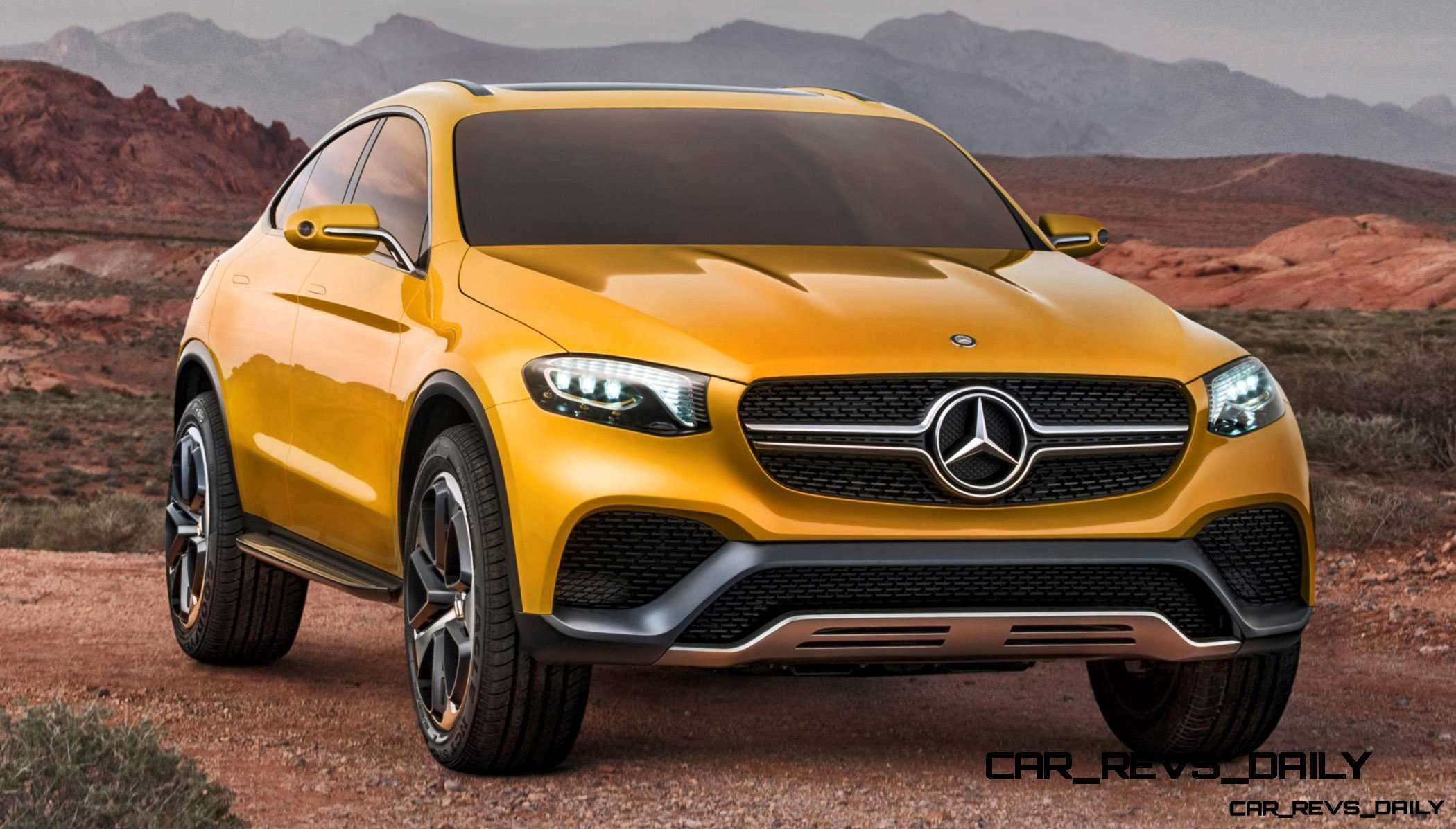 2015 mercedes benz glc coupe concept for Mercedes benz hybrid cars