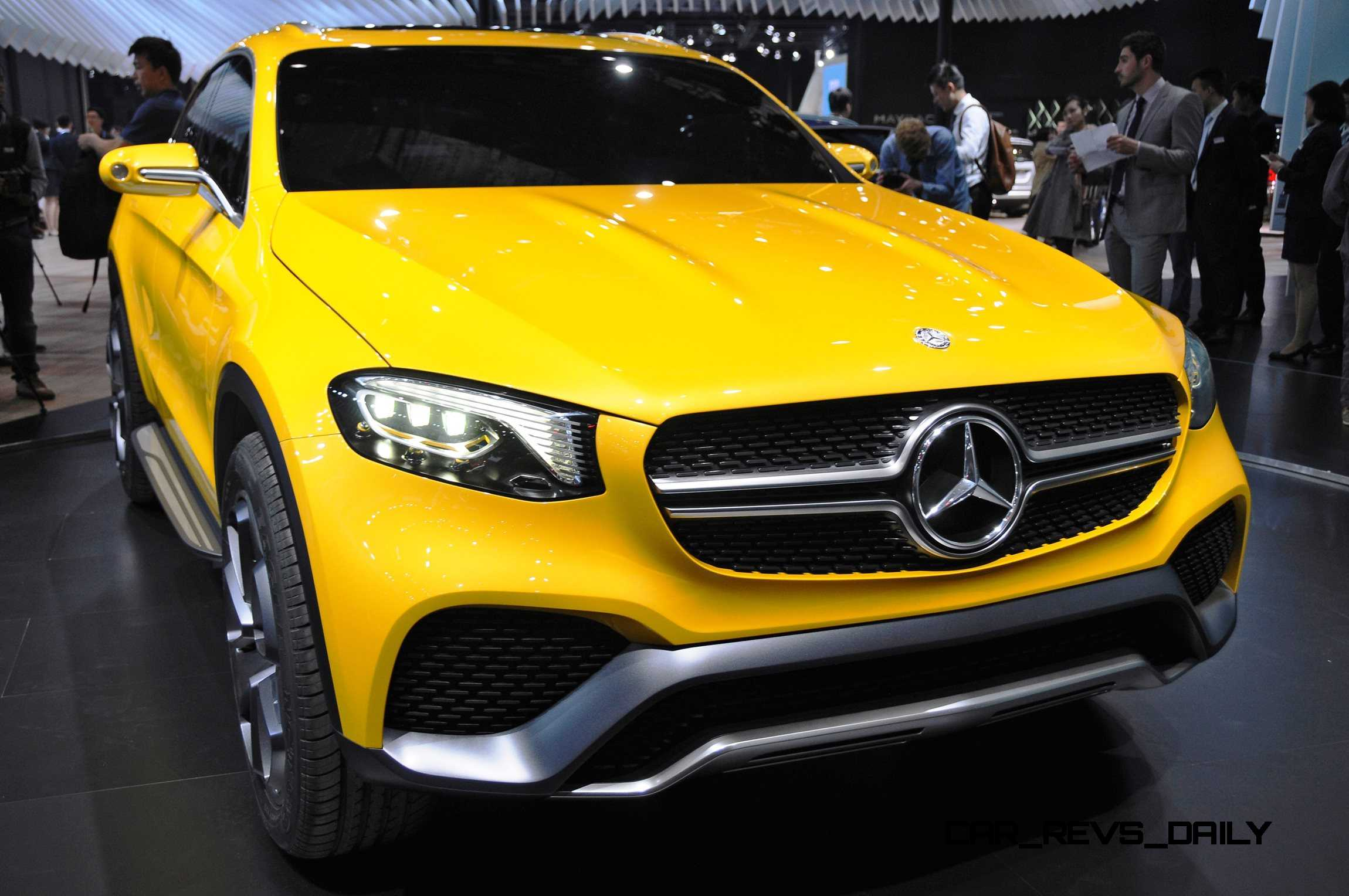 Mercedes benz glc for Mercedes benz concept coupe