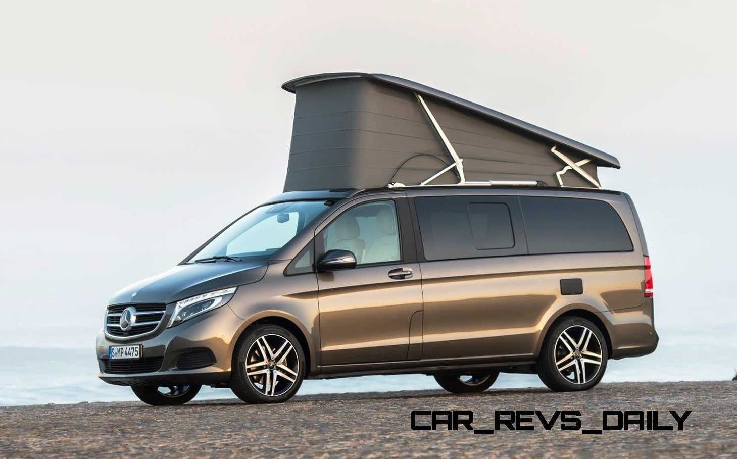 2015 mercedes benz marco polo for Mercedes benz van 2015
