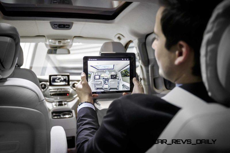2015 Mercedes-Benz V-Class PHEV Van Concept V-ision-e 14