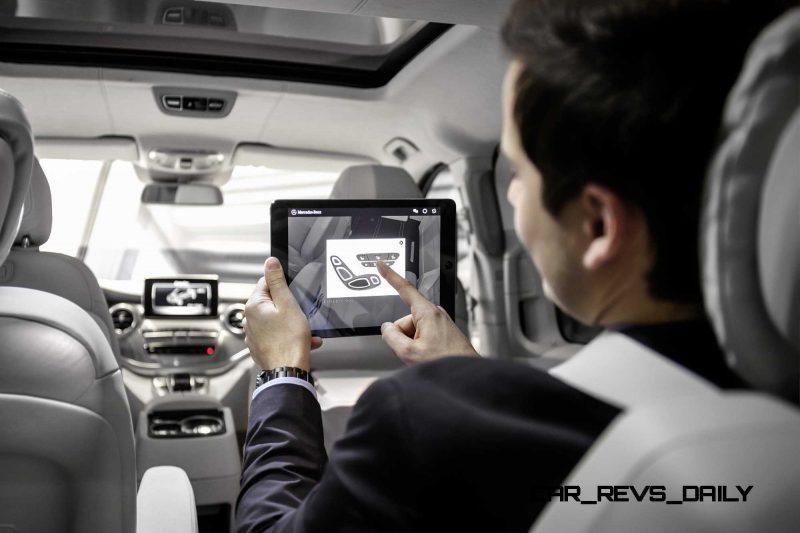 2015 Mercedes-Benz V-Class PHEV Van Concept V-ision-e 15