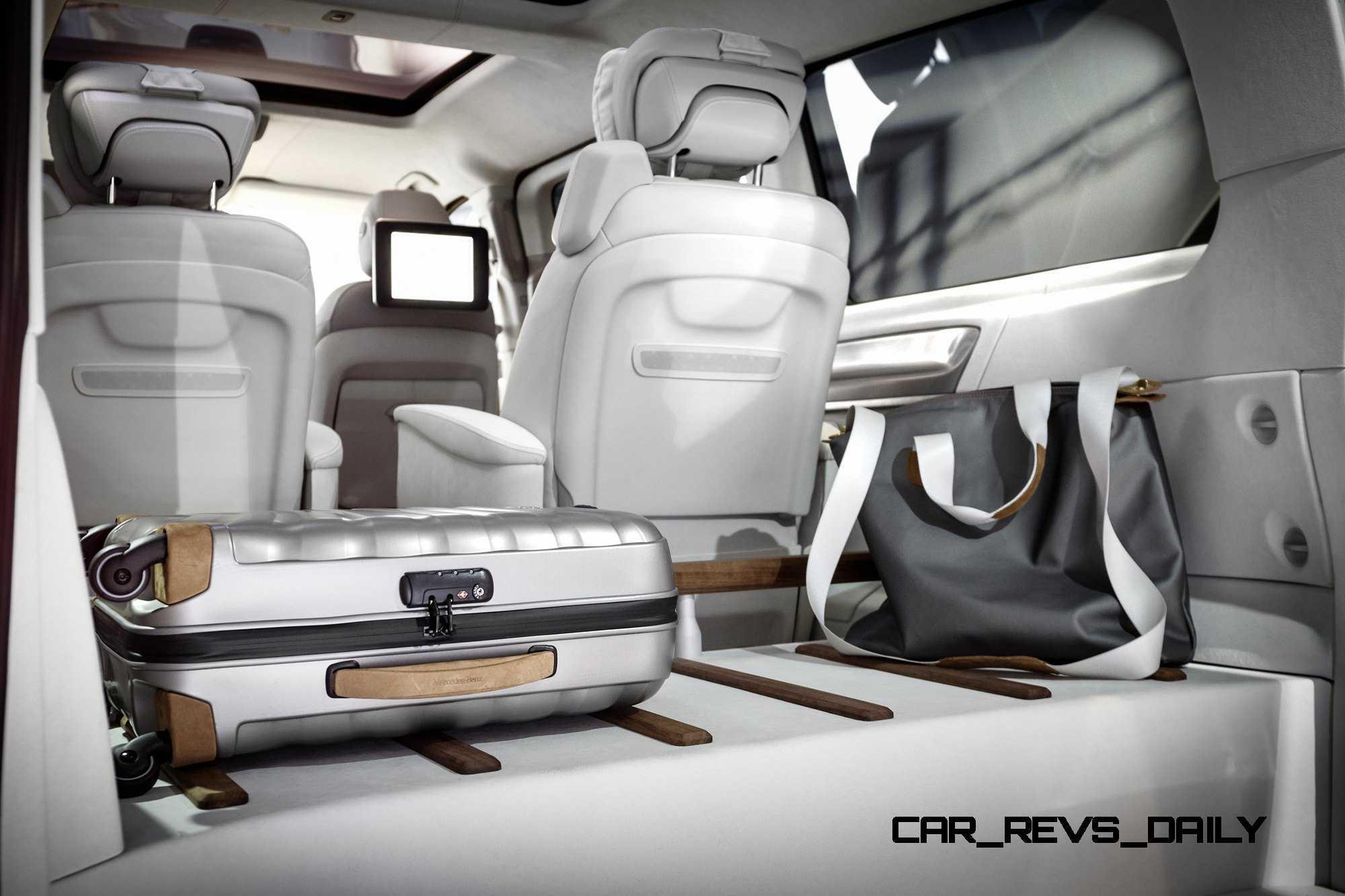 2015 Mercedes Benz V Class Phev Van Concept V Ision E 16