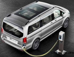 2015 Mercedes-Benz Concept PHEV Van – Hybrid Tech May Join USA-Bound Metris in 2019