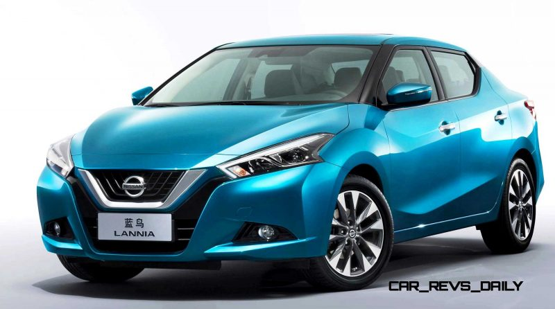 2015 Nissan Lannia Revealed in Shanghai With Funky Rump 10 copy