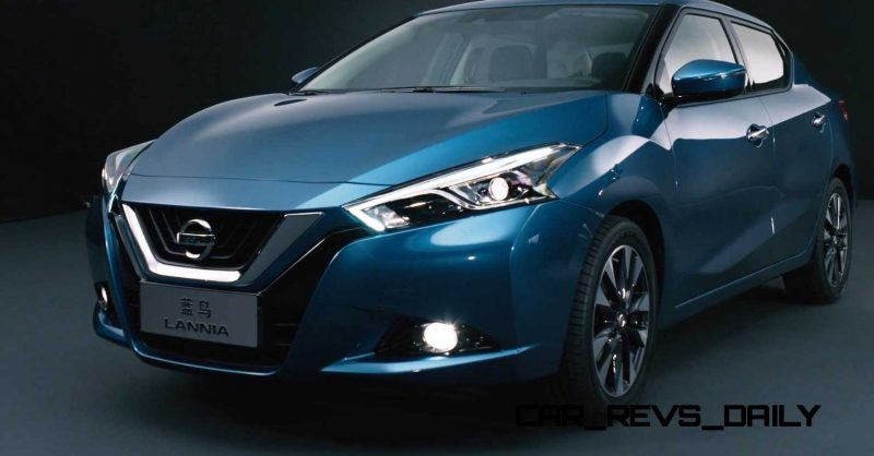 2015 Nissan Lannia Revealed in Shanghai With Funky Rump 25