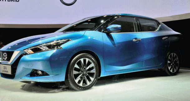 2015 Nissan Lannia Revealed in Shanghai With Funky Rump