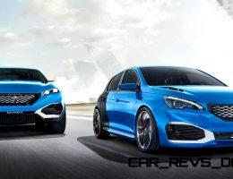 Update1 – 500HP, 3.8s 2015 Peugeot 308R HYbrid Concept Adopts QUARTZ Details