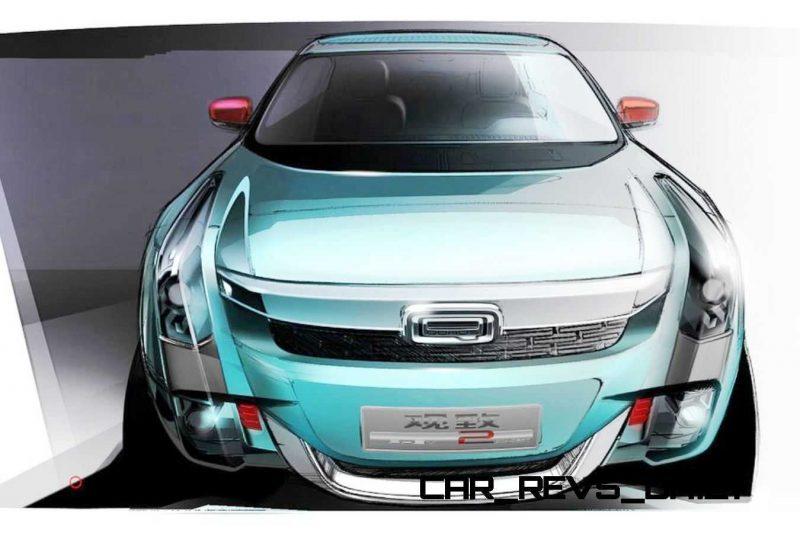2015 QOROS 2 SUV PHEV Concept 12