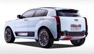 2015 QOROS 2 SUV PHEV Concept 17