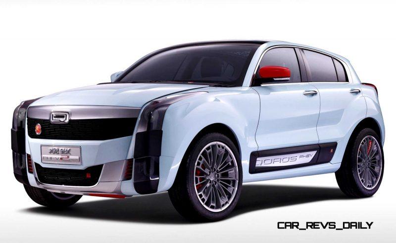 2015 QOROS 2 SUV PHEV Concept 18