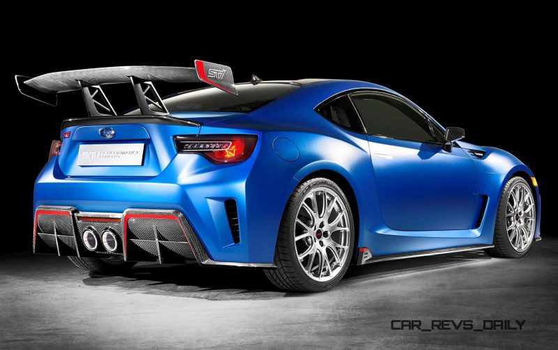 subaru brz sti concept turbo performance revs daily