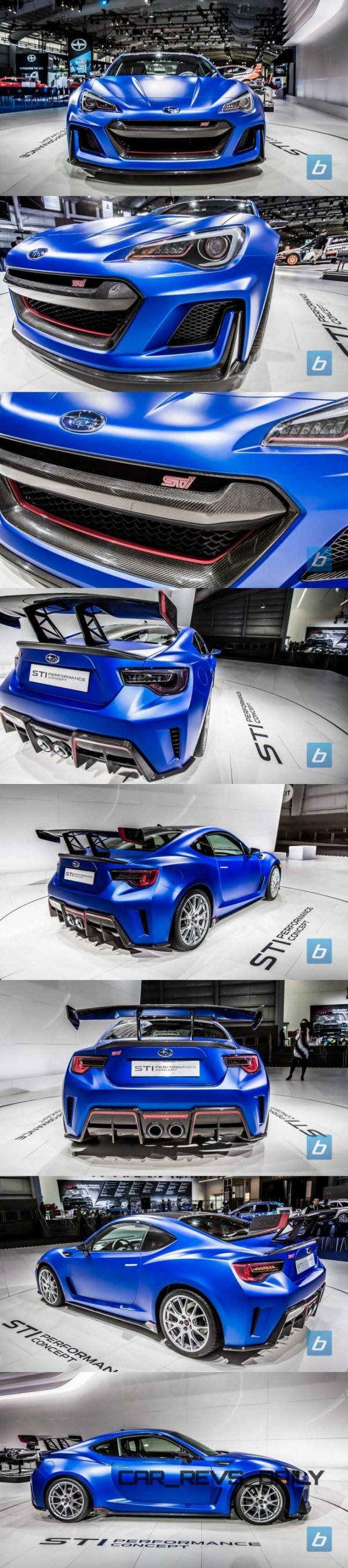 2015 subaru brz sti concept widebody packs 400hp super gt turbo. Black Bedroom Furniture Sets. Home Design Ideas