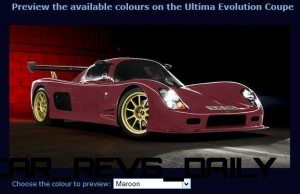 2015 ULTIMA Evo Coupe COLORS 11