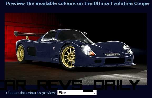 2015 ULTIMA Evo Coupe COLORS 2