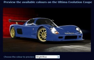 2015 ULTIMA Evo Coupe COLORS 3
