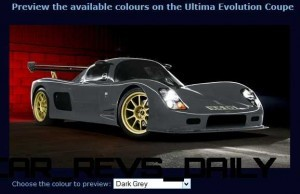 2015 ULTIMA Evo Coupe COLORS 5
