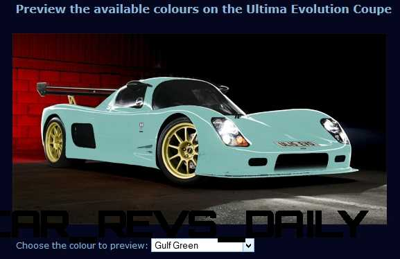 2015 ULTIMA Evo Coupe COLORS 7