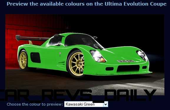 2015 ULTIMA Evo Coupe COLORS 9