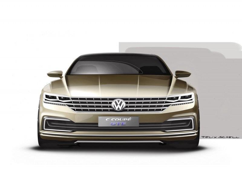 2015 Volkswagen C Concept GTE 12
