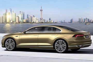 2015 Volkswagen C Coupé GTE Previews Phaeton Replacement