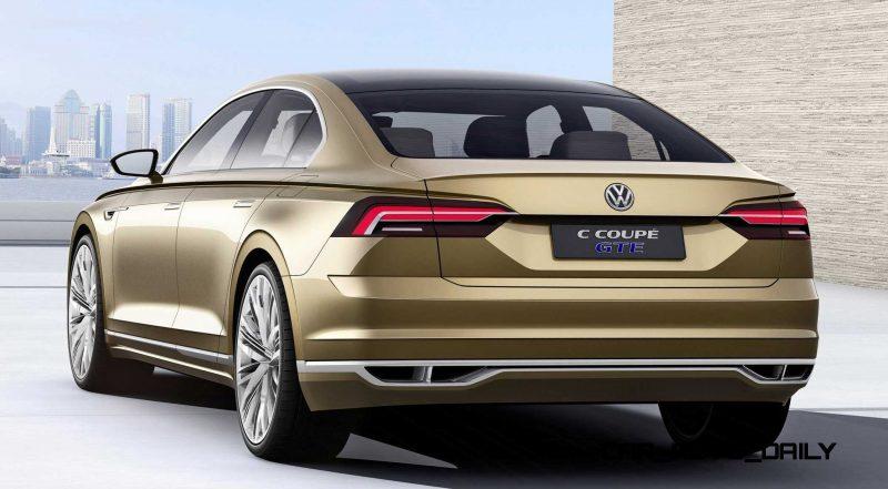 2015 Volkswagen C Concept GTE 25