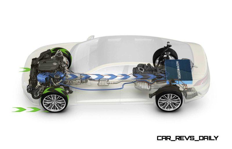2015 Volkswagen C Concept GTE 7