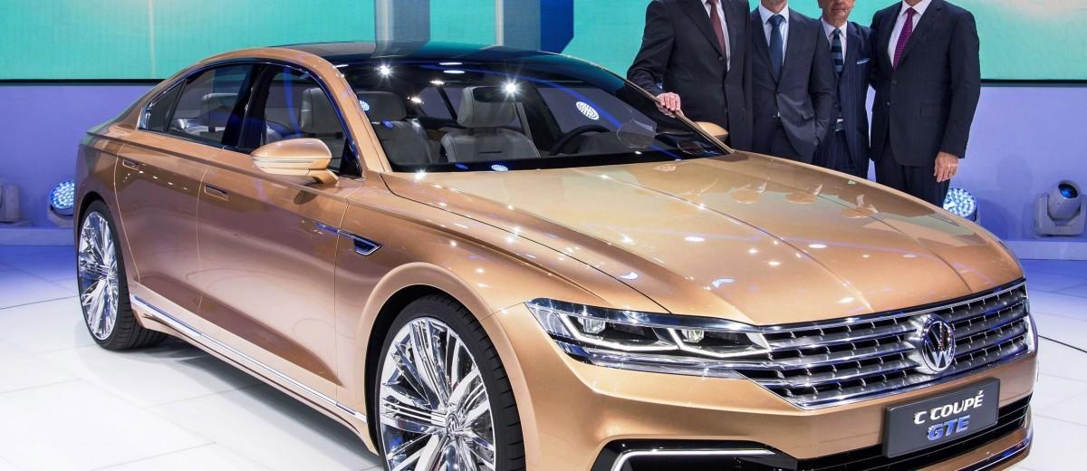 2015 Volkswagen C Coupe GTE Concept 14