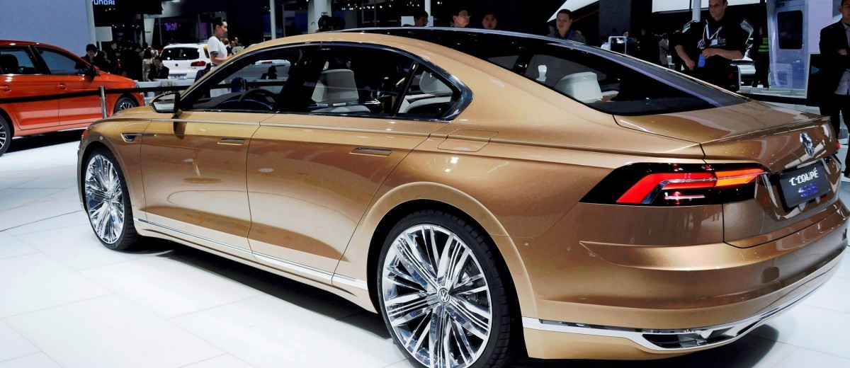 2015 Volkswagen C Coupe GTE Concept 6