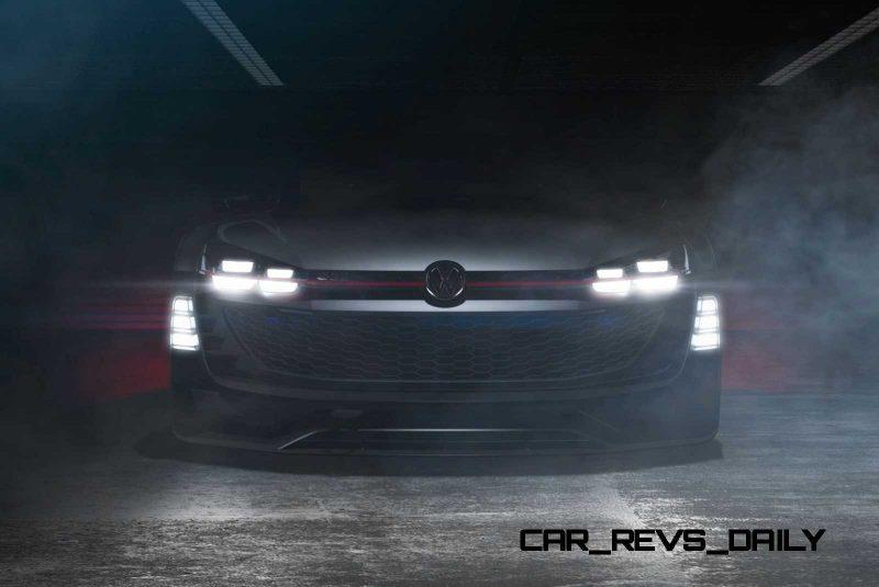 2015 Volkswagen #VisionGTI Concept 1