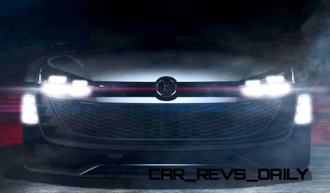 2015 Volkswagen #VisionGTI Concept 2