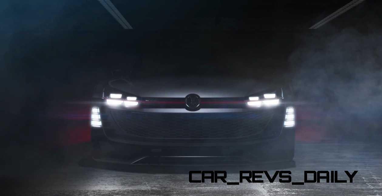 2015 Volkswagen #VisionGTI Concept 6