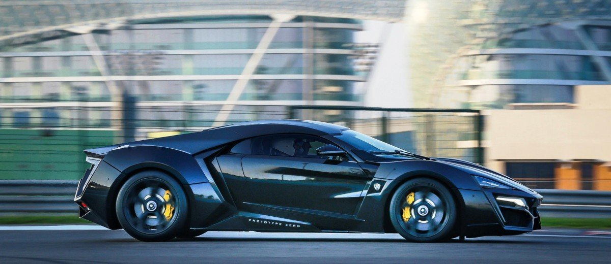 2015 W Motors Lykan HyperSport FF7 Shanghai Launch Party 1
