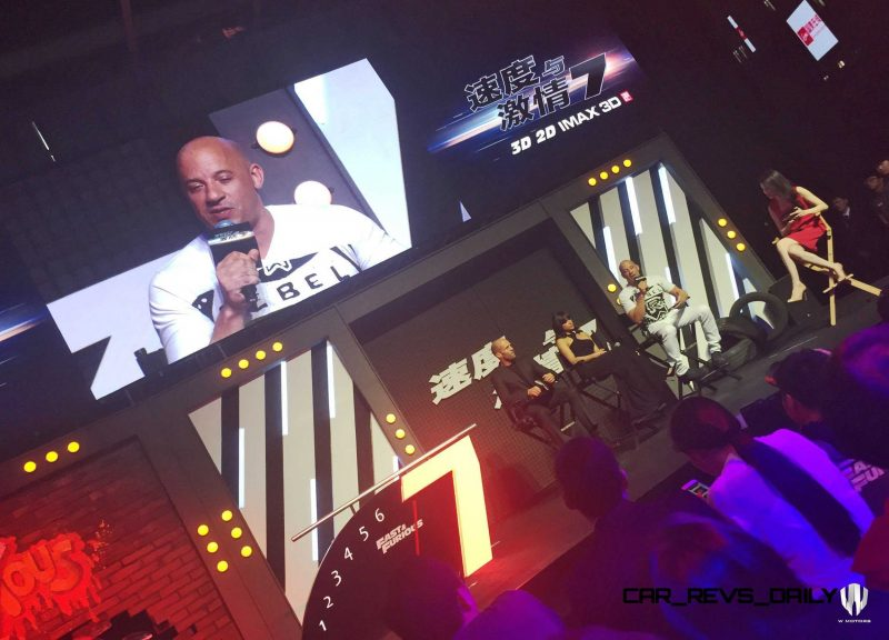 2015 W Motors Lykan HyperSport FF7 Shanghai Launch Party 11